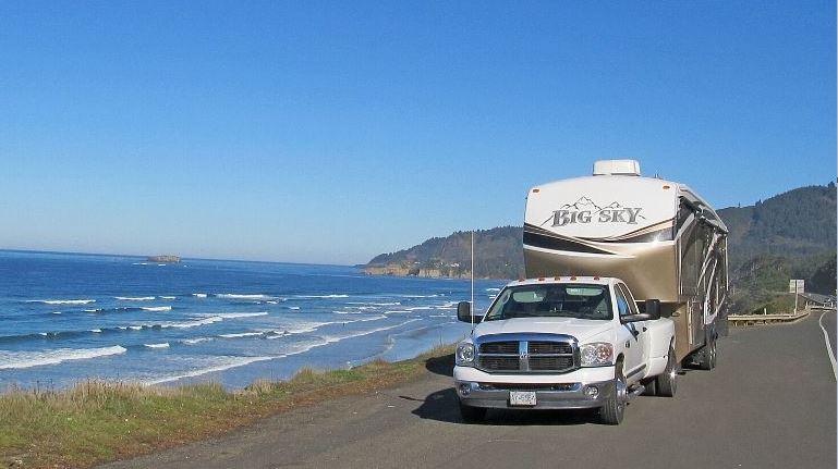 Coasting Through Oregon