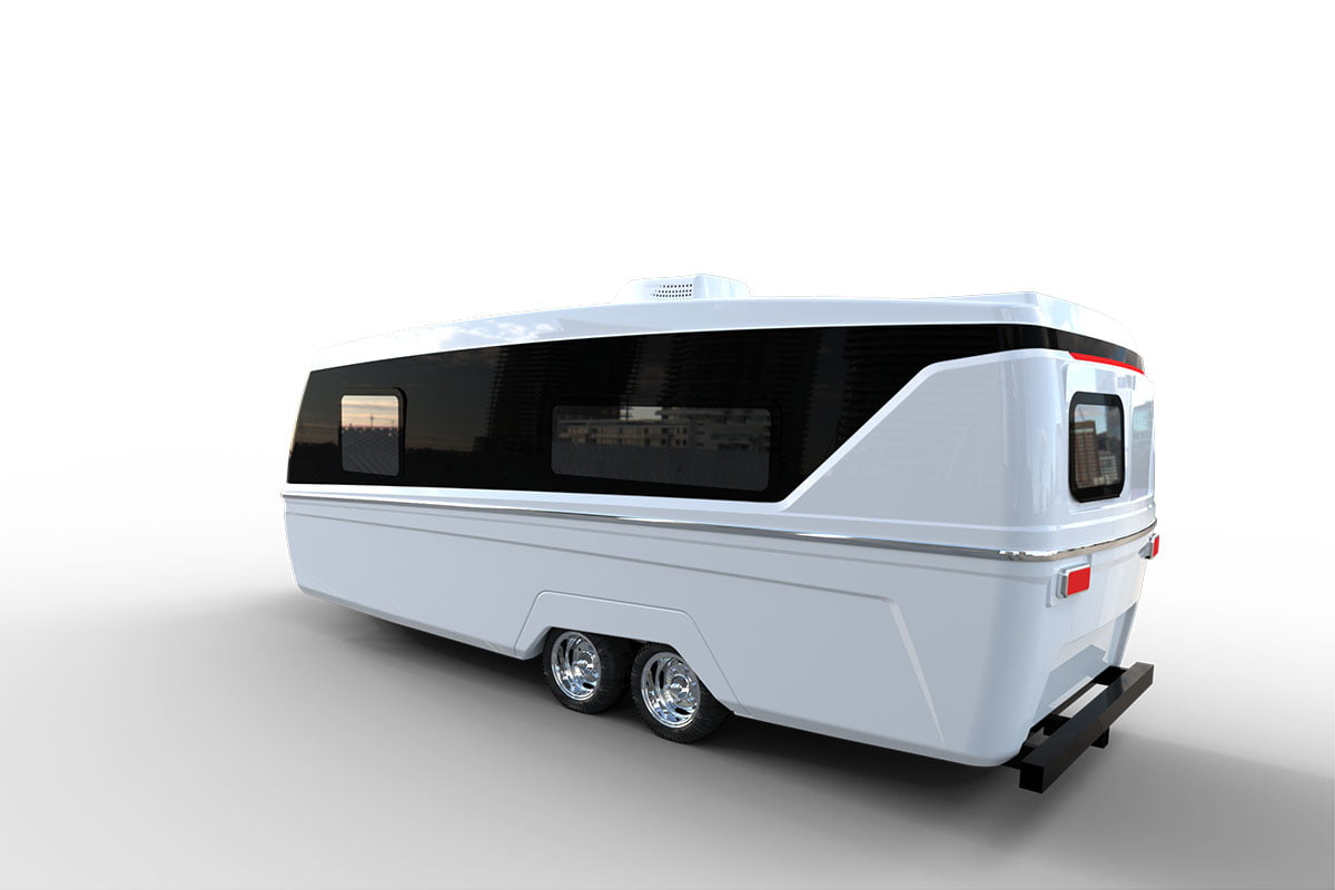 Northern Lite's Seamless Travel Trailer – The Boreal 23FB