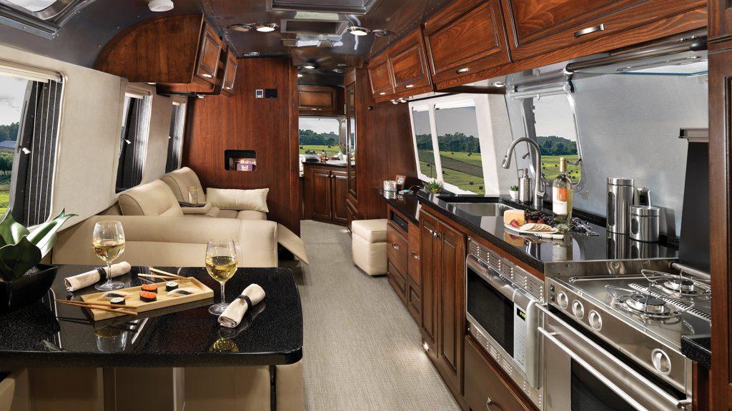 Airstream Classic interior