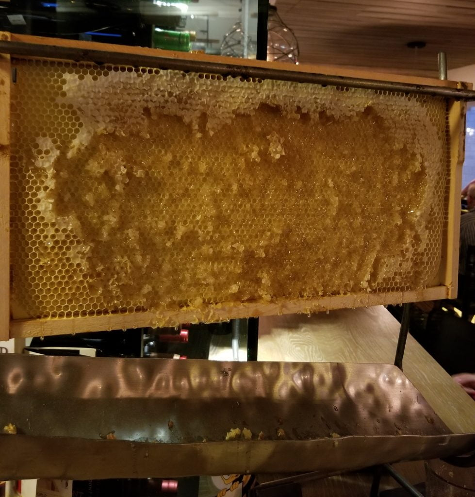 Large honeycomb