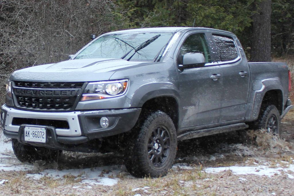 2020 Chevrolet Colorado ZR2 Bison