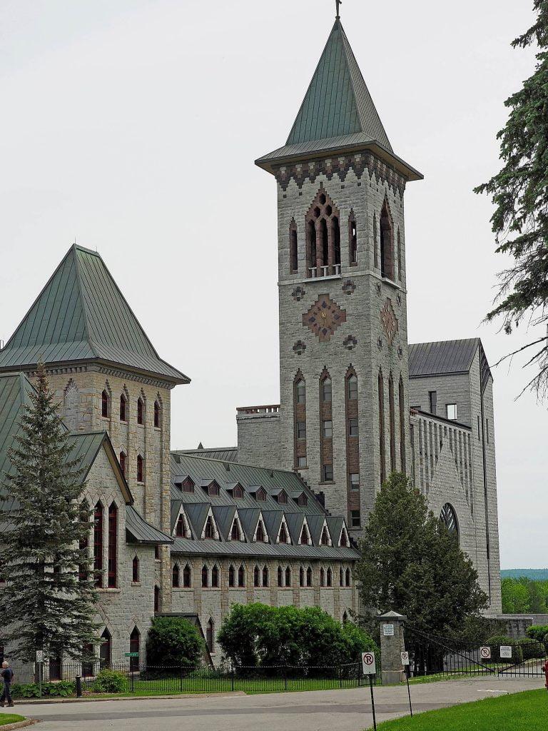 Abbaye-de-Saint-Benoit-du-Lac old church