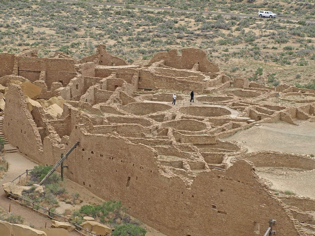 Chaco aerial view