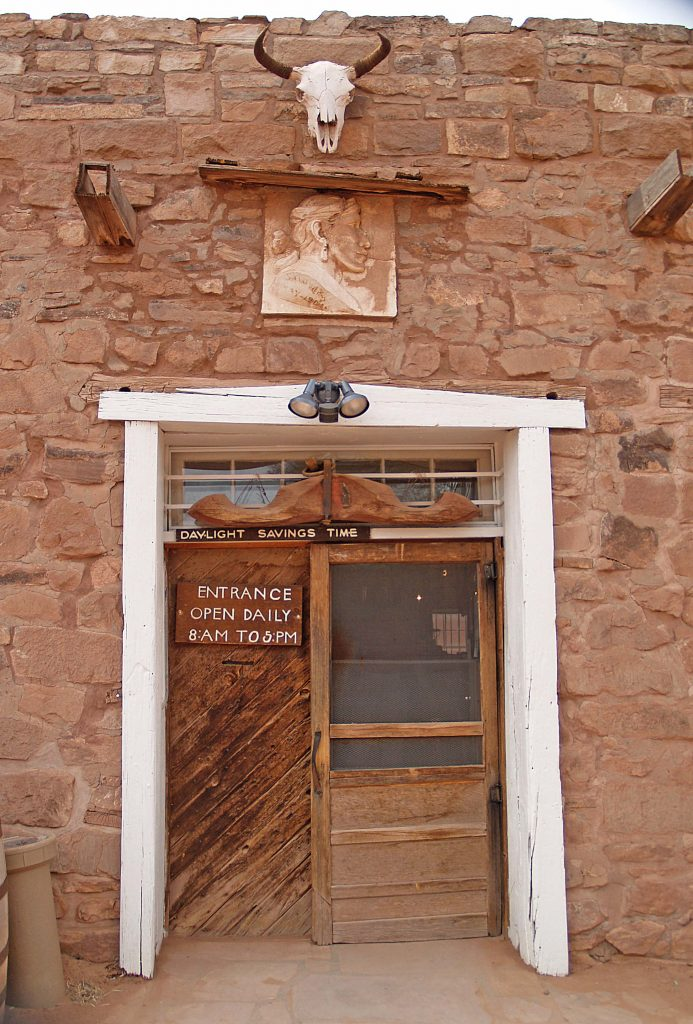 Hubbell Trading Post stone doorway