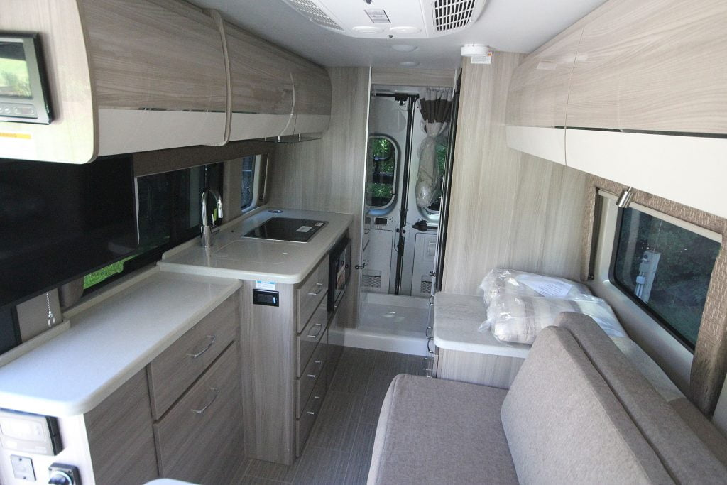 Storage space in the motorhome