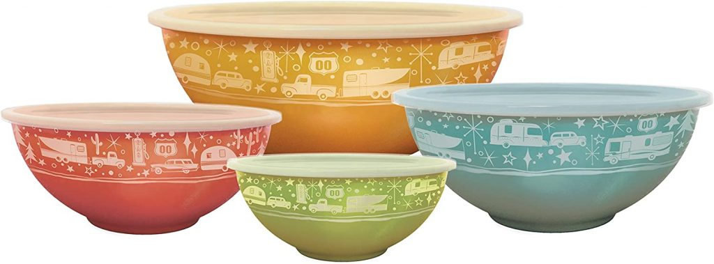 colourful nesting bowls