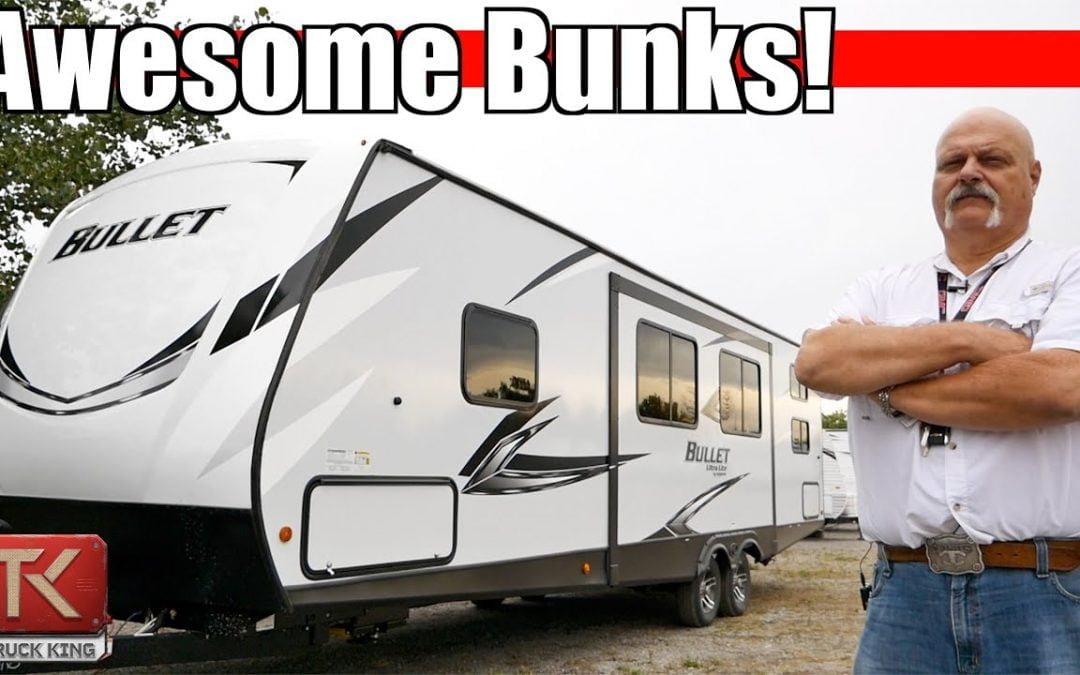 A Look at the 2021 Keystone Bullet 290BHS Travel Trailer