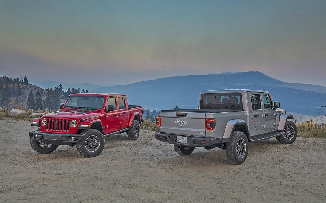 2021 Jeep Gladiator and Wrangler Get New EcoDiesel Engine