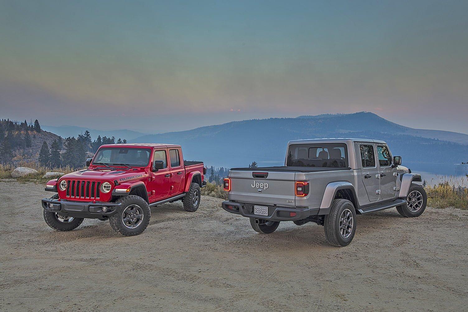 2021 Jeep Gladiator and Wrangler Get New EcoDiesel Engine