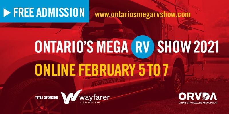 Ontario's Mega RV Show 2021