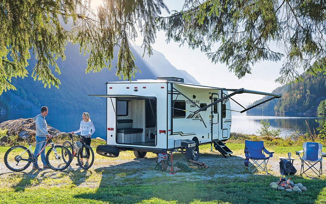 Review of the 2021 KZ Escape E17 Hatch Travel Trailer