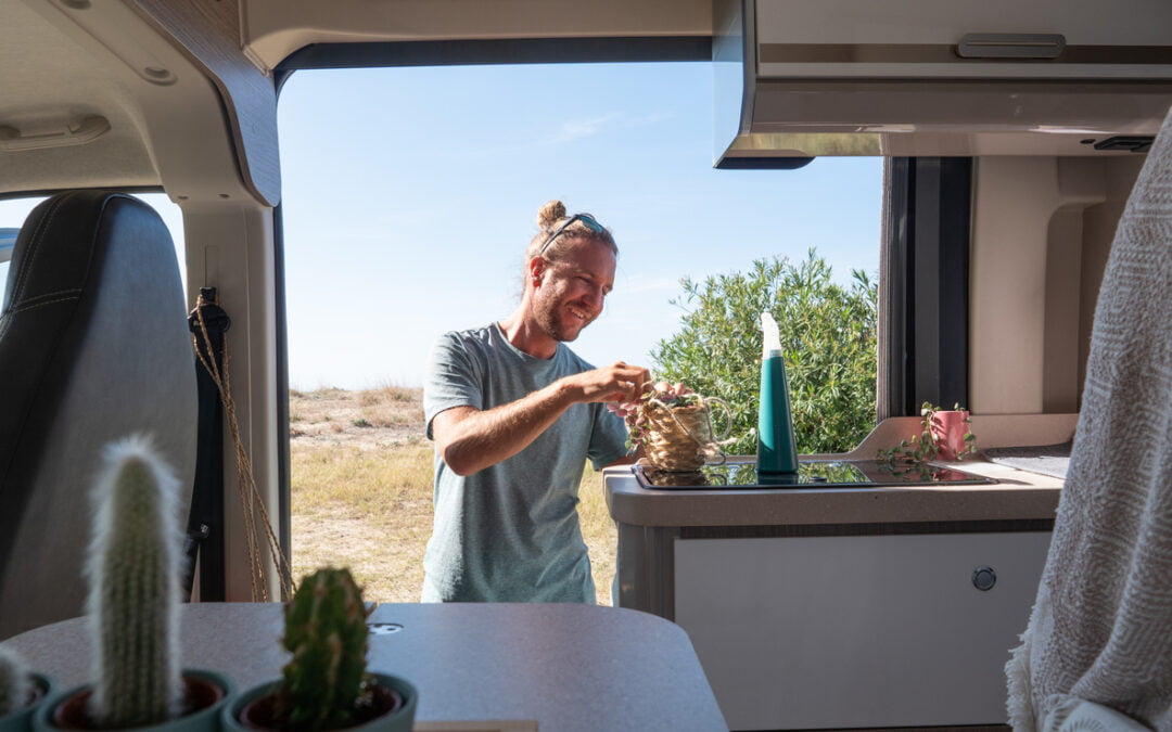 Must-Learn Tips for Easy Eco-RVing: Galley Kitchen Edition