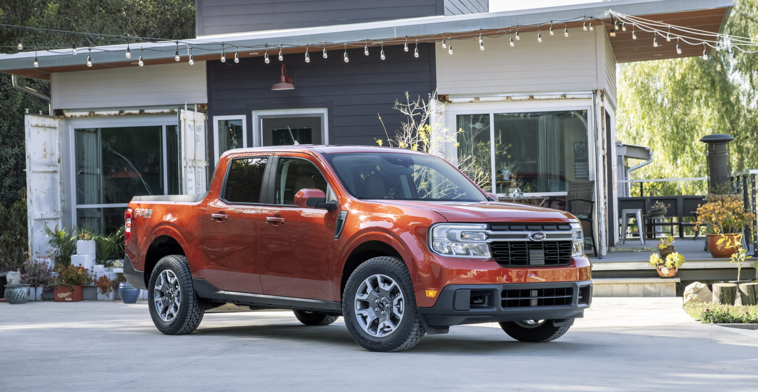 View of the 2022 Ford Maverick