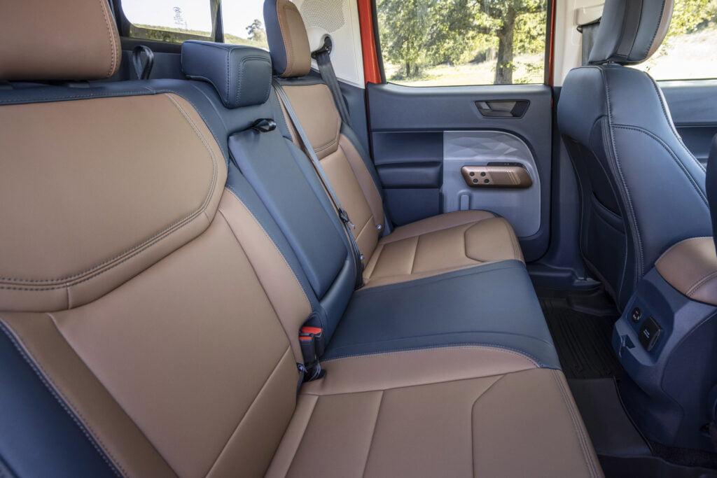 2022 Ford Maverick passenger space