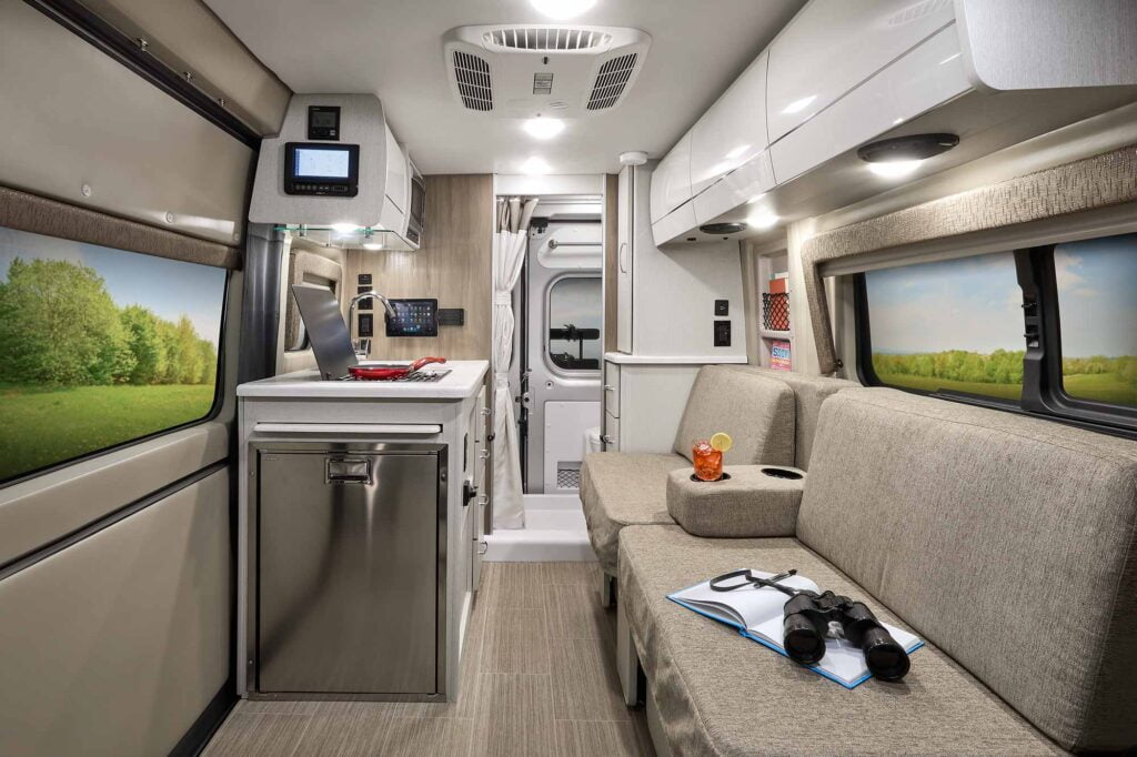 View of the Thor Rize RV Interior