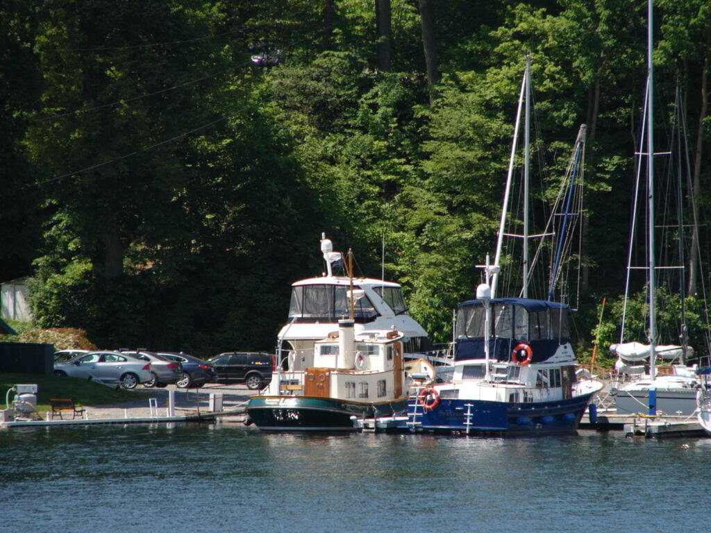 Hidden coves and harbors