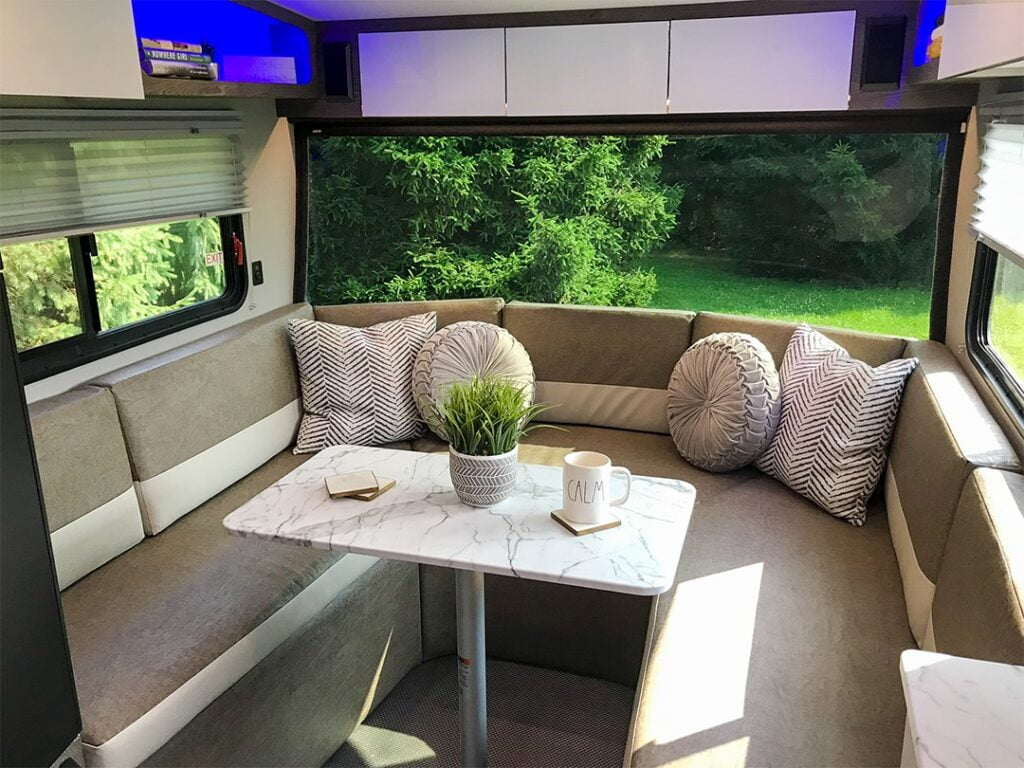 Interior view on the InTech Trailer