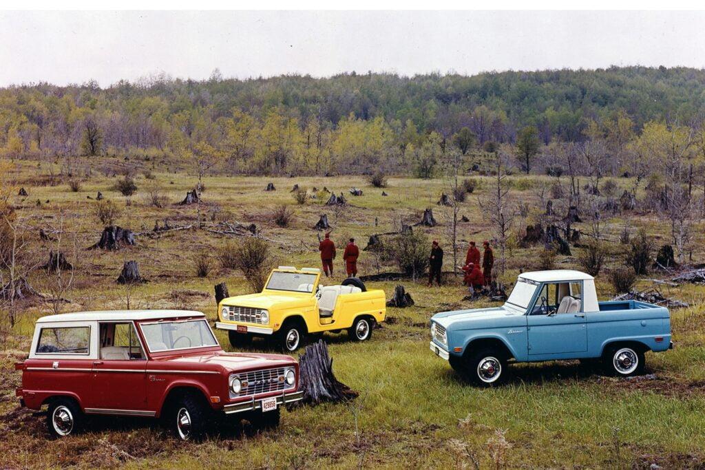 Vintage Ford Bronco SUV